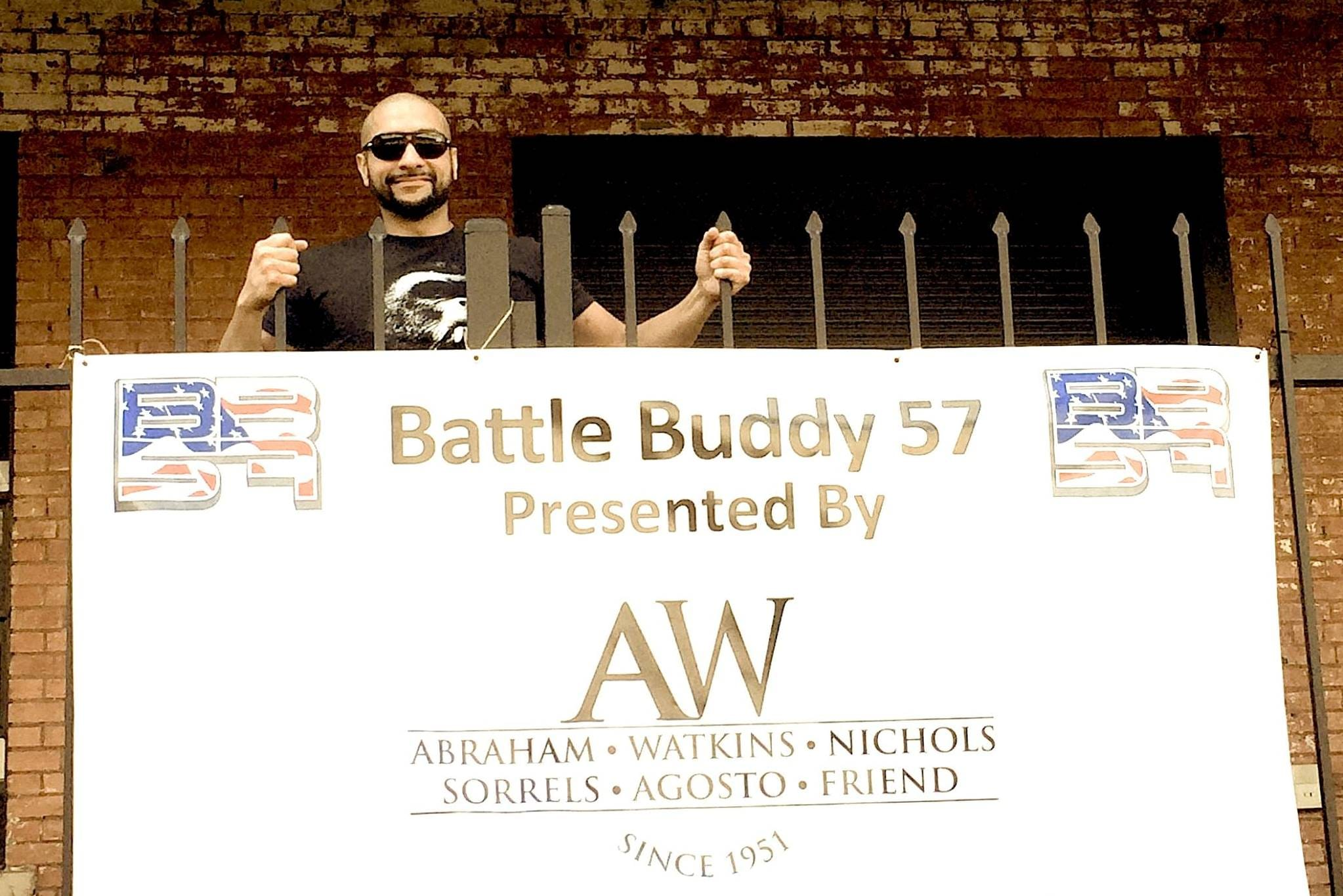 Partner Mo Aziz competed in Battle Buddies 57 for the second consecutive year