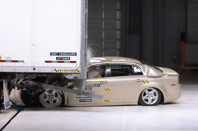Underride Guards Failed in IIHS Recent Tests